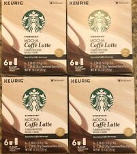 Starbucks Mocha Caffe Latte K Cups 8Boxes 48 Pods And 48Dairy Packets (12/2019)