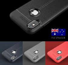 For IPhone X / XS Phone Case Genuine Shockproof Slim Heavy Duty Soft Phone Cover