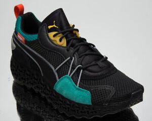 Puma Calibrate Restored Tron Men's Black Lifestyle Shoes Athletic Sneakers