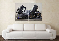Large McClaren P1(2) Supercar Sport Car Wall Poster Art Picture Print