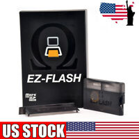 EZ Flash GameBoy Micro GBA Omega Advance Black DS New for Nintendo V9E2P