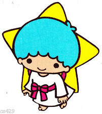 "5"" HELLO KITTY SANRIO LITTLE TWIN STAR BOY  FABRIC APPLIQUE IRON ON"