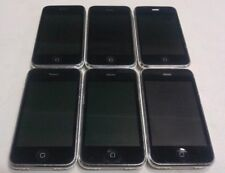 Lot of 6 Apple iPhone 3GS 16GB A1303 AT&T White POWER UP, LCD ISSUES, READ BELOW