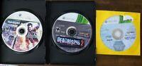 USED (games only) Dead Rising 1 + 2 w/ Bonus Microsoft Xbox 360 Lot of 2 Bundle