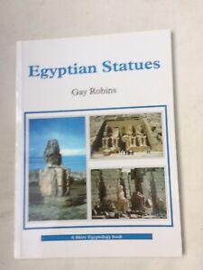 EGYPTIAN STATUES Gay Robins 2001 1st PB illust.VGC