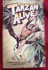 SIGNED Tarzan Alive 1972 (biography of lord Greystoke)