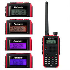 Retevis RT5 Walkie Talkie VHF/UHF 128CH VOX 8W 1750Hz DTMF FM 2-Way Radio US hot