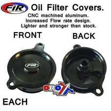 Filtro de aceite de abeto Race Series Cubierta Kawasaki KXF450 KLX450 KFX450 KSF450