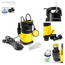 TROTEC Tauchpumpe TWP 4005E Gartenpumpe Wasserpumpe 400W Klarwasser Flachsaugend