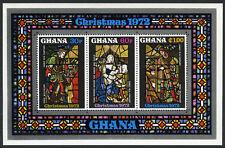 Ghana 471a, MI Bl.48, MNH. Christmas. Paintings: Religius Art, 1972