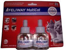 Feliway multicat refill x 2 pack 6/21