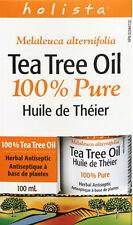"Best Deal* Holista 100% Pure Tea Tree Oil,100 ml + ""Handy Healing Tea Tree Oil"