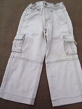 Boys Size 2 for 18 to 24mths  Pumpkin Patch  Cotton Drill Cargo Pants