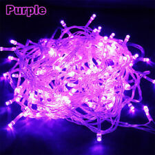 Purple 10M 100LED SMD String Fairy Light Christmas Outdoor Lamp 110V US Plug Hot
