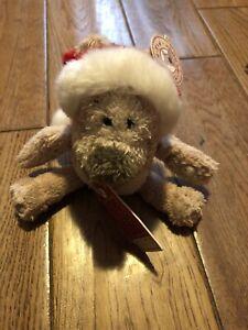 Tedmund Ted Cute Soft Plush Christmas Teddy New