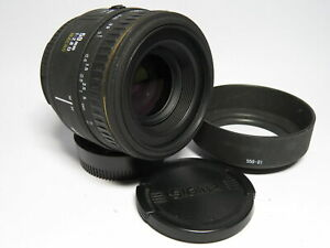 Sigma EX Series Prime 50mm f2.8 Macro Premium Auto Focus Lens for Nikon AF Fit