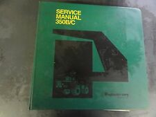 Payhauler 350B/C Off-Highway Truck Service Manual   70SA350C0P  1997