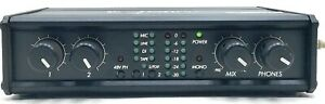 Sound Devices USB Pre Computer Microphone Preamp Rental USB Audio Interface M