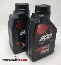 MOTUL Aceite lubricante MEZCLA 800 2T FL Off Road, 2 L Motocross Competición