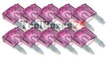 10 Stück 40A Auto-Sicherungen Mini Sicherungen Flachsicherungen KFZ Sicherung