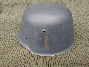 DDR M54 Stahlhelm NVA KVP HELM Kessler Bombe gest. MdI I/54 Polizei VP
