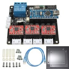 USB 3 Axis Stepper Motor Driver Board Controller CNC Laser Engraving Cutting DIY
