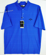 Callaway Golf Mens Golf Polo Shirt Opti-Dri Magnetic Blue L NWT MSRP $55.00 Larg