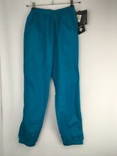 Columbia Womens Sawtooth Windbreaker Pants M 100% Nylon Sapphire VTG 90s NWT NEW