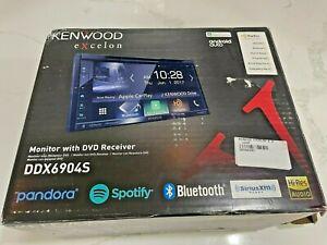 Kenwood Excelon DDX6904S 2-Din Monitor w DVD Receiver Bluetooth & HD Radio NOS