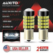 2X AUXITO 1156 7506 Super Bright 102 SMD LED Reverse Back Up Light Bulbs 6000K d
