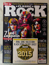 CLASSIC ROCK + Free CD Aug 2015 LED ZEPPELIN Final LPs RIVAL SONS Spooky Tooth
