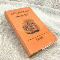 1971 Livre Vintage Brothers Grimm Populaires Allemand Stories Antique Facsimile