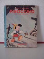 WALT DISNEY : PINOCCHIO d'après  COLLODI -  EDITIONS HACHETTE 1940 -