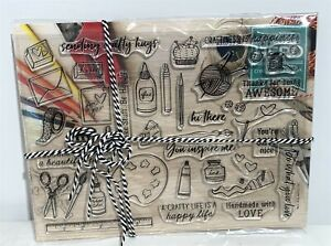My Monthly Hero Arts Kit MAY 2019 Art Crafts Crafting Rubber Stamps Dies Set
