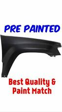 PRE PAINTED Passenger Fender for 2005-2010 Jeep Grand Cherokee w Free Touch Up