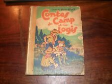 SCOUTISME/DHACE/CONTES DU CAMP ET DU LOGIS SPES 1935 EO illustrations