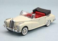 Mercedes 300 D 1958 Cabrio White 1:43 Model RIO4459 RIO