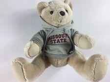 """Missouri State Plush Bear 12"""" Stuffed Toy Hoodie University Cute Cuddly Mascot"""