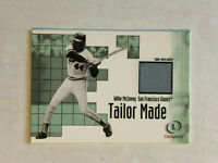WILLIE McCOVEY 2001 Fleer Legacy Tailor Made GAME USED SP JERSEY! GIANTS! RARE!
