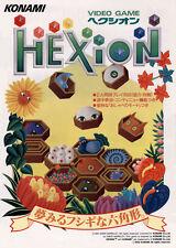 1991 Konami Hexion Jp Video Flyer