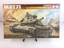 Vintage TAMIYA M.B.T.71 JAPAN GROUND SELF DEFENSE FORCE - 1/48 Scale Model Kit