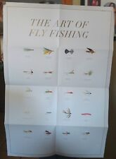 """3 Ea Posters """"The art of fly-fishing"""" Hf650"""