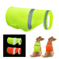 Reflective Dog Safety Vest High Visibility Jacket Clothes for Small Large Dogs