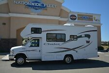2009 Winnebago Chalet WF22BR Class C RV Coach Motorhome Clean 23ft NO RESERVE