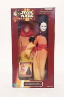 "Vintage Star Wars Queen Amidala Padme Poseable Large 12"" Figure - Episode 1"