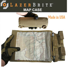 LazerBrite® Tactical Light System Map Case - Coyote
