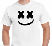 Marshmello T-Shirt Funny Birthday Cotton Tee Vintage Gift For Men Women