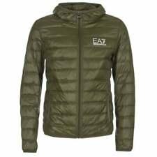 EA7 Emporio Armani Light Down Hooded Jacket Green (8NPB02 PN29Z) Small RRP £150