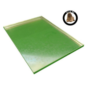 Ellie-Bo Replacement Silver Galvanised Metal Tray for 42 inch XL Dog Cage Crate