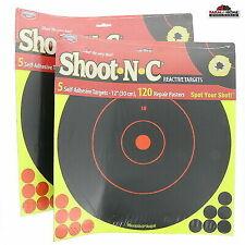 """Birchwood Casey Targets Shoot N C Self Adhesive 5 Sheet 12"""" # 34012"""